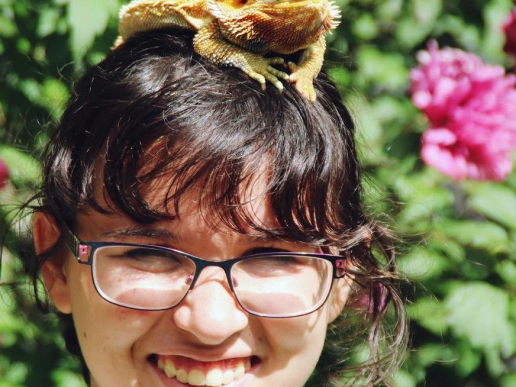 Kathryn Bearded Dragon Overnight Teen Camp 16