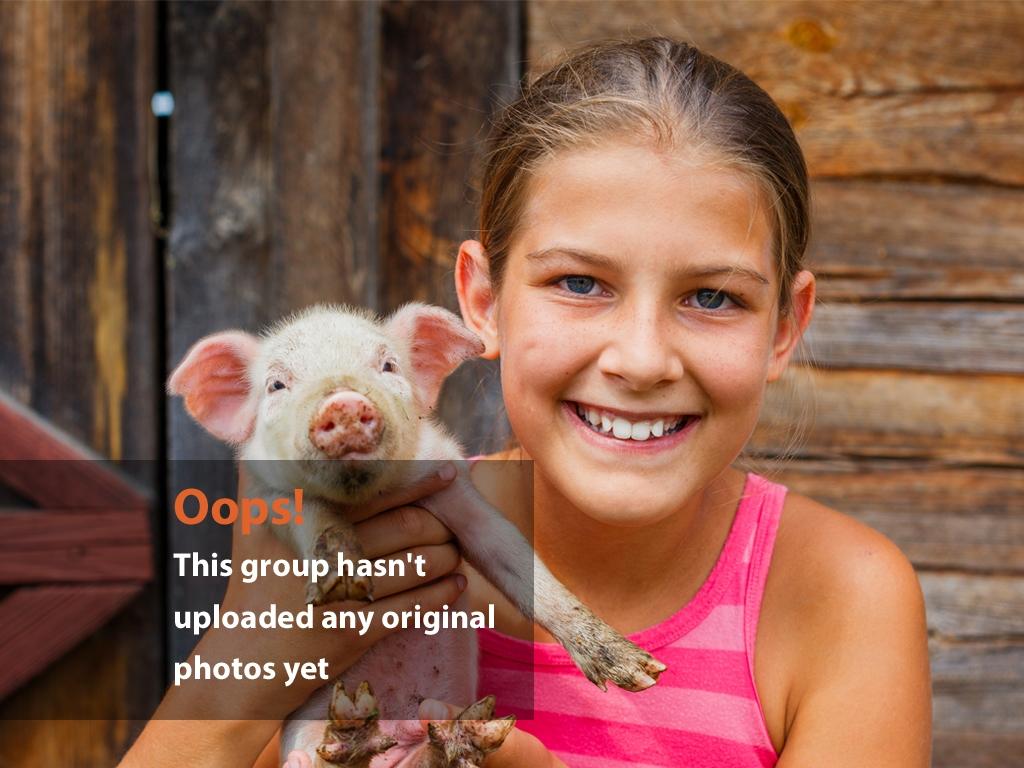 Girl Holding Piglet Oops Photo – Girl Holding Piglet
