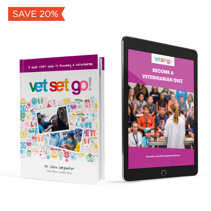 20% Off Become a Vet Book and Quiz Bundle